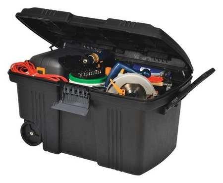 22-1/2'' Mobile Work Box, Black