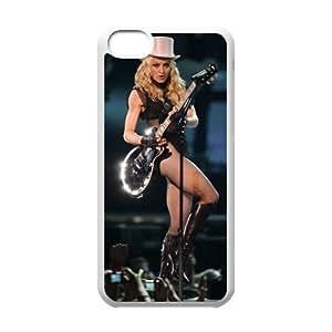 Diy TRDJGOO Madonna Ciccone Iphone 5C Hard Shell Case Fashion Style UN836343