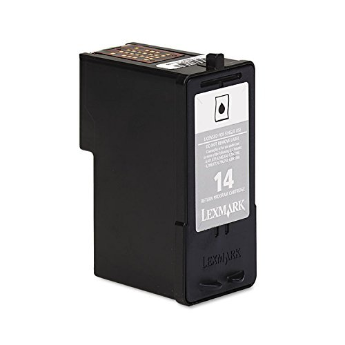 Lexmark No 14 Black Return Prog Print Cartridge by Lexmark
