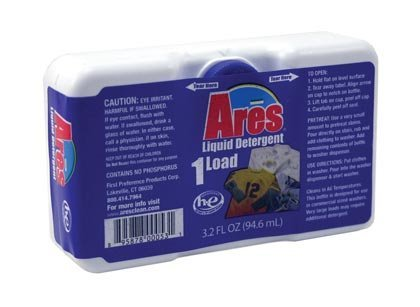Ares HE Blue Liquid Detergent - 3.2 fl.oz. - Coin Vend by Ares