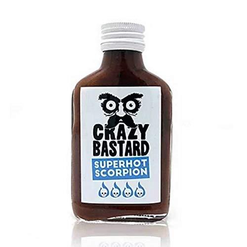 Crazy Bastard Sauce – Superhot Scorpion 100ml
