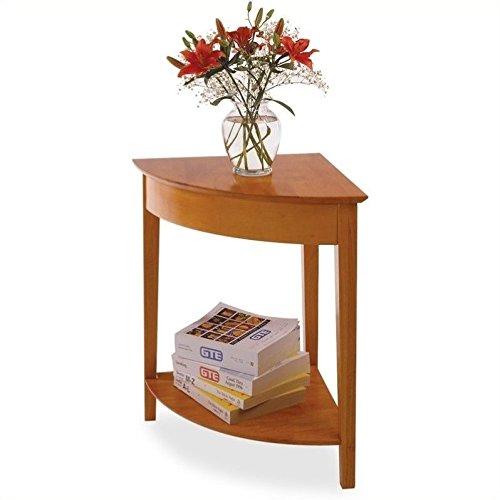 Winsome Wood Corner Desk with Shelf, Honey (Pine Desk Honey)