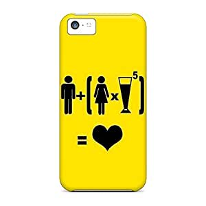 First-class Cases Covers For Iphone 5c Dual Protection Covers Man Vs Woman