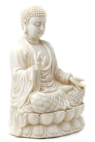 1-Beautiful-Blessing-Buddha-Antique-White-Polystone