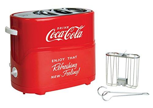 082677251534 - Nostalgia HDT600COKE Coca-Cola Pop-Up Hot Dog Toaster carousel main 0