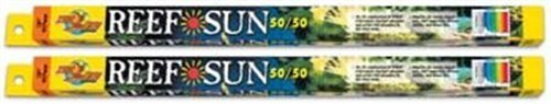 (2 Pack) Zoo Med 24 Inch Reef Sun Flourescent Bulb, 17 Watts (T8 STD Output)