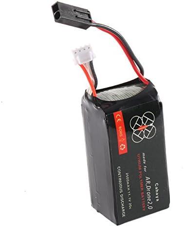TOOGOO 2500mAH 11,1 V 20C LiPo Batteria potente per Quadrocopter AR.Drone 2.0