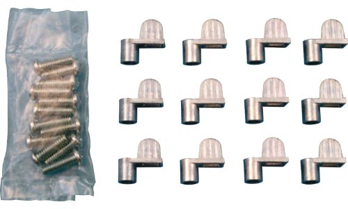 Prime-Line Products PL 7735 Screen Clips with Screws (Pack of 12), 5/16