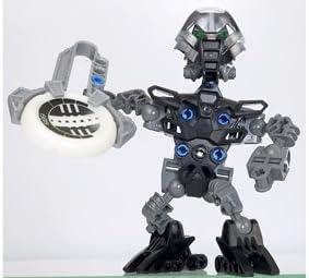 Lego Bionicle Matoran of Metru Nui Mini Box Set Figure #8609 Tehutti (Grey)
