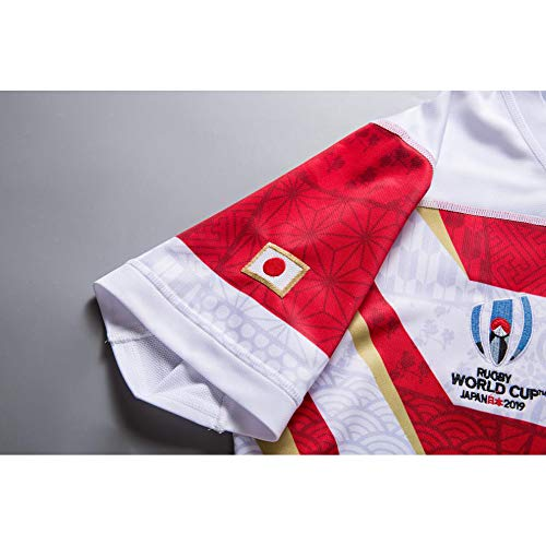 2019 Japan Rugby Maglia Da Casa En Jersey Sugon Sport Camiseta Rugby Jersey World Cup Japan Team para Hombre