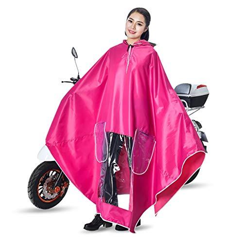 Per Ispessimento Impermeabile Panno F Da F E Aumento Adulti Auto Dimensioni colore Donne Xxxl Equitazione Poncho Hyuyi Uomini Batteria Moto Singolo 5Apn600qw