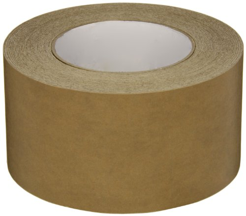 Intertape Polymer Group 539 Synthetic Rubber Medium Grade Flatback Adhesive Tape, 0.18mm Thick x 54.8m Length x 72mm Width, Brown, Case of 16 Rolls by Intertape