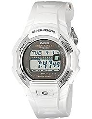 G-Shock GWM850-7CR Mens Tough Solar Atomic White Resin Sport Watch