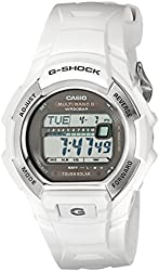 Casio Men's G-Shock Solar Atomic White Watch