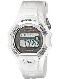 G-Shock GWM850-7CR Men's Tough Solar Atomic White Resin Sport Watch