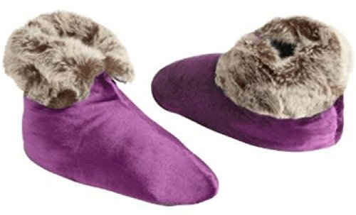 Northpoint Velvet Berber Womens Slipper Purple Boots Ardour wwrFEqP