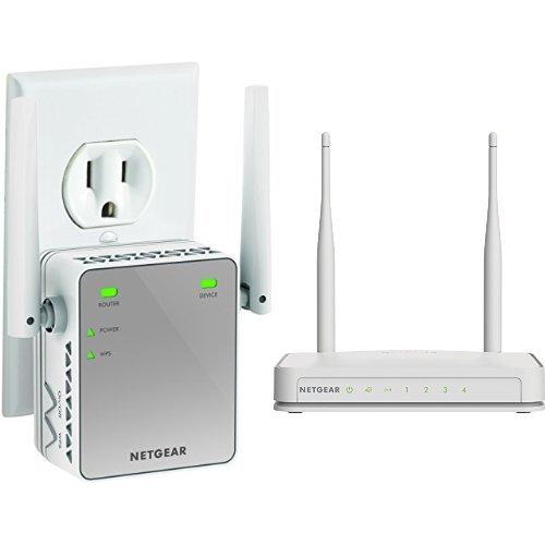 NETGEAR Wi Fi Router Extender Bundle