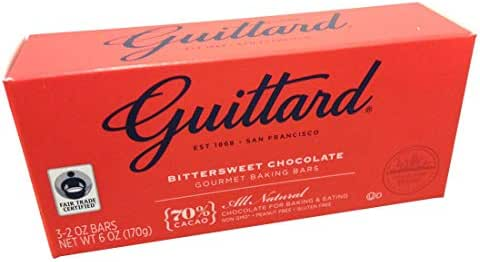 Baking Chips & Chocolate: Guittard Bittersweet Chocolate Baking Bars
