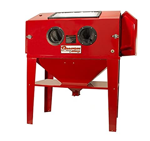 Dragway Tools Model 90 Sandblasting Sandblaster Cabinet with Gun and Nozzles - Ceramic Sandblaster