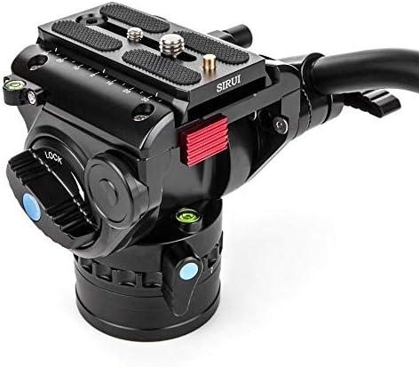 Sirui P 426sr Vh 10x Einbeinstativ Mit Standspinne Und Kamera