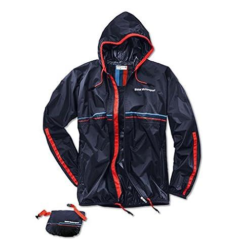 BMW Motorsport unisex rain jacket - Team Blue,