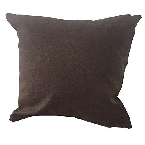 MHC Premium Embossed Faux Suede Decorative Pillowcase Cushion Cover for Sofa Throw Pillow Case(18