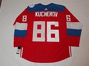 Autographed Nikita Kucherov Jersey - 2016 Team Russia World Cup Of Proof -  JSA Certified - 0250ca501