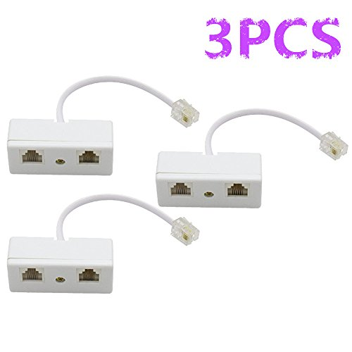Two 6p4c Plug - 9