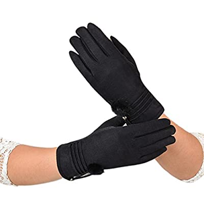 Women Gloves, Forthery Soft Screen Touch Glove Warm Lined Thick Warm Winter Gloves