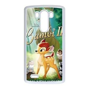 LG G3 Cell Phone Case White Bambi II AG6103176
