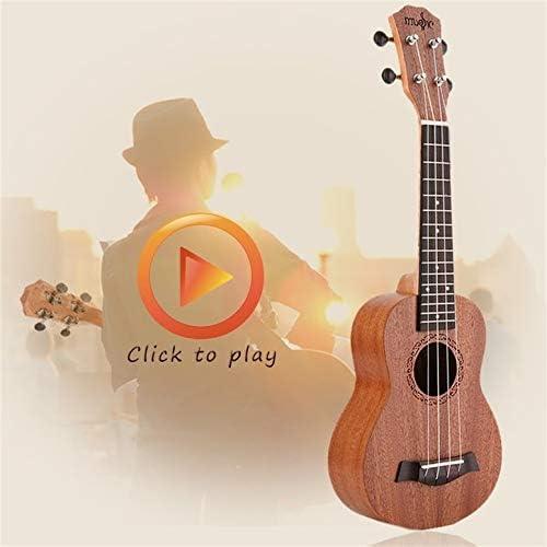 Soprano Acústica Guitarra Ukelele Eléctrica 4 Cuerdas Ukelele ...