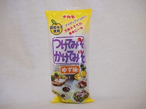 万能みそだれ ゆず味つけてみそかけてみそ 国産ゆず使用 ナカモ(愛知県)310g×1