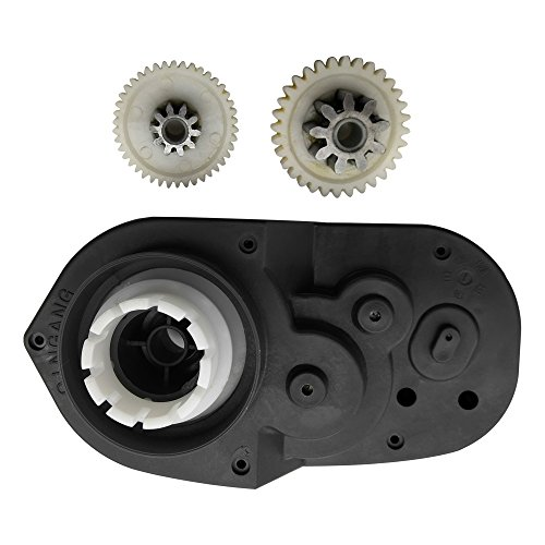 24Volt RS550 Gearbox for Kids Children On Toy Car Accessories, 24V18000RPM Electric Motor with Gear Box Drive Engine Match Children Ride On Car Replacement -
