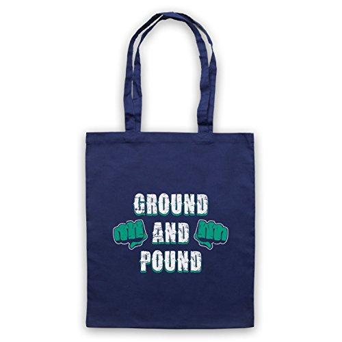 Bolsa Ground Pound Asas Azul De Marino And Fighting Mma wBBnxqP7rI