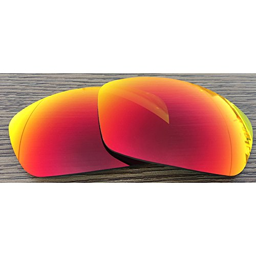 Inew Polarized Replacement lenses For Arnette Rage XL Fire Ruby Red - Sunglasses Arnette Rage Xl