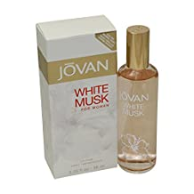 Jovan White Musk Perfume by Coty for Women. Cologne Spray 3.25 Oz / 96 Ml.