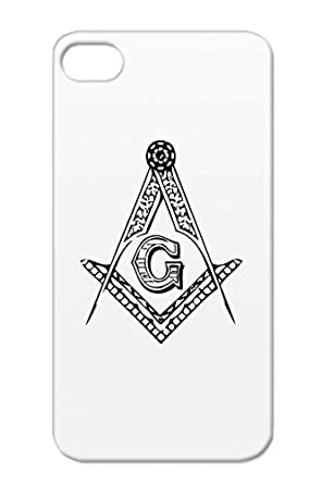 Anti Drop Black Mason Case For Iphone 4 Religion Philosophy