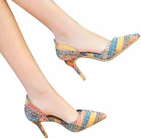 04329d40531f GIANTHONG Women s High Heel Stiletto Women s Open Toe Ankle Strap Stiletto  Heel Dress Sandals Elegant Wedding