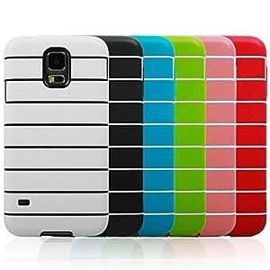 TY-El caramelo colorea la caja del teléfono Fringe TPU suave del teléfono de la alta calidad para i9600 Samsung Galaxy S5