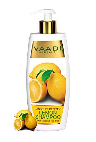 Lemon with Tea Tree Extract Shampoo Dandruff Defense ALL Nat
