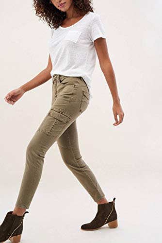Verde Pantaloni di Secret Glamour colore Salsa qaU6X7wq