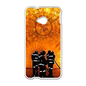 Happy firefighter Phone Case for HTC One M7