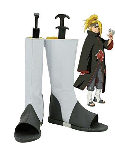 NARUTO Anime Deidara Cosplay Shoes Boots Custom Made
