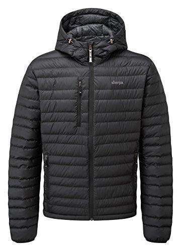 Nangpala Manteau Noir Hooded Sherpa Homme vYxqFd6