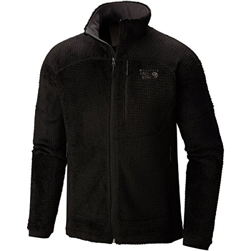 Mountain Hardwear Monkey Man Grid II Fleece Jacket - Men's Black, XXL - Alpine Fleece Jacket
