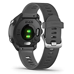 Garmin Forerunner 245 GPS Running Smartwatch with Advanced Training Features – Grey (Renewed) Recommended deals