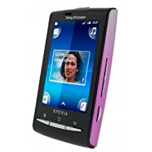 Sony Ericsson XPERIA X10 Mini E10i Unlocked Smartphone with 5 MP Camera, Android OS, gps navigation, Wi-Fi and Bluetooth--International Version with Warranty (Pearl White/Pink)