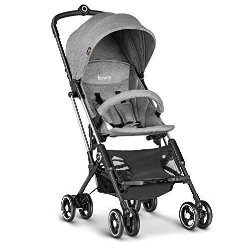 Besrey Airplane Stroller One Step Design for...