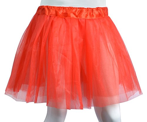 Girls Tutu Skirt Classic 3-Layer Princess Tulle Skirt for Ballet Dance Party Costume Dress Up,Ages 6-13