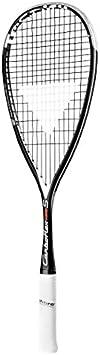 Tecnifibre CARBOFLEX 135 S Raqueta de Deporte - Raquetas de Deporte (Tenis, Grafito, Negro, Color Blanco)